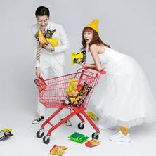 玫瑰星座高端定制婚纱摄影