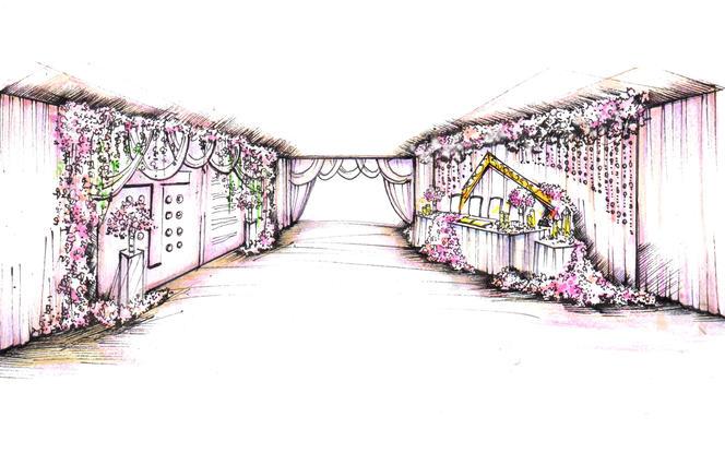 【喜帖街】专属手绘私人定制婚礼