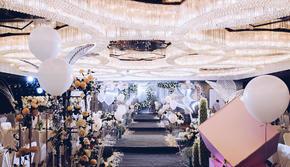 轻奢定制香槟婚礼,唯美花艺布景欧式浪漫