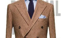 英国粗花呢男士礼服系列