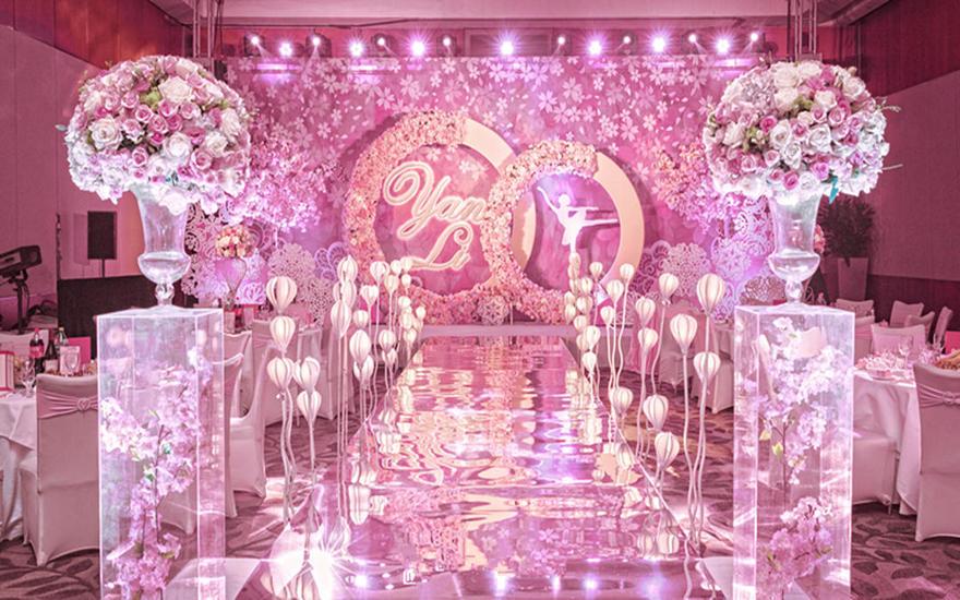 【优悦婚礼】樱缘 粉色浪漫清新人气