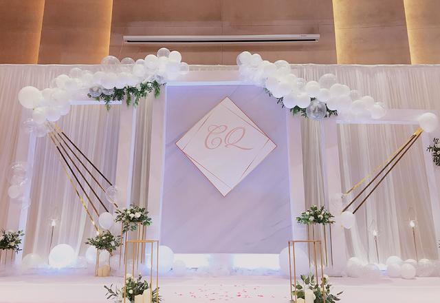 【三生婚礼策划】简约大理石主题婚礼