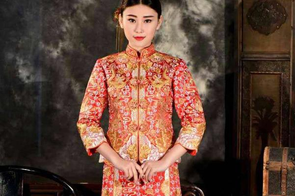MUSES缪斯---中式优雅秀禾服