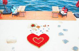 苍山洱海边的爱情求婚