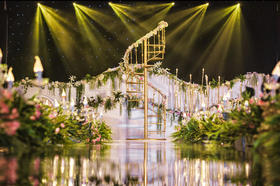 莱拉真实婚礼案例 | 轻森系 | 夜色下许愿
