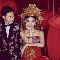 【时尚中国风】温州婚纱照5服5造