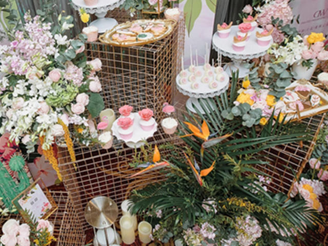 【诺时尚】ins绿色系·物语 婚礼