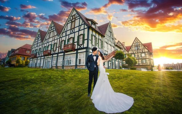 【唯一视觉】科玛城堡婚纱照
