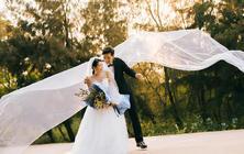穿着婚纱去旅行+风车/海景/礁石/旅拍+婚纱