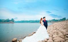 爱久久婚纱摄影【海边的风】