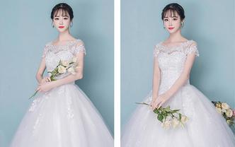 完美婚礼| VIP超值齐地婚纱 秀禾服高定四件套
