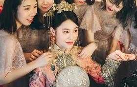 【小盒造型】全天新娘跟妆——总监璐璐加助理套餐
