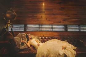莉莉造型罗兰湖婚礼跟妆