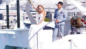 【推荐】游艇海景婚照总监团队拍摄无隐形消费