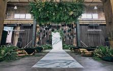 【0303定制婚礼-】 工业风 不在婚宴厅的婚礼
