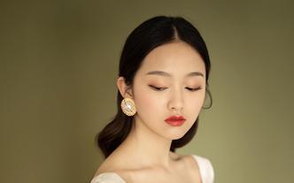 依然造型-小曼 创始人全天婚礼新娘跟妆