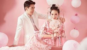 匠心定制!东方新娘~唯美中国风婚照~内外景双拍
