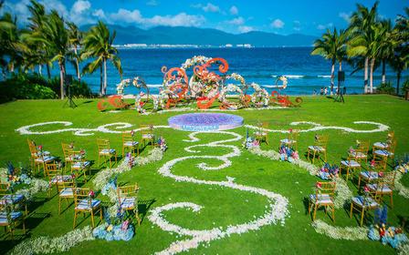 【诺丁山婚礼企划】海岛草坪创意婚礼·悦心