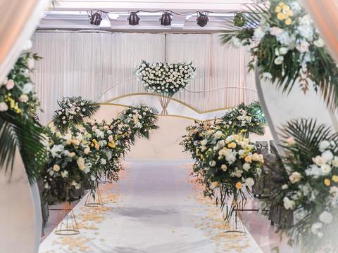 【婚礼匠】时光是最长情的告白 半定制森系简约婚礼
