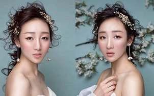 杨子造型资深化妆师全程新娘跟妆(赠送敬酒服一件)