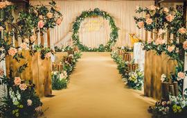 精致小型婚礼,轻森系,《一眼万年》
