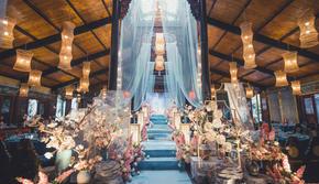 【2020年婚礼风向标】{森美绘}蓝色新中式婚礼