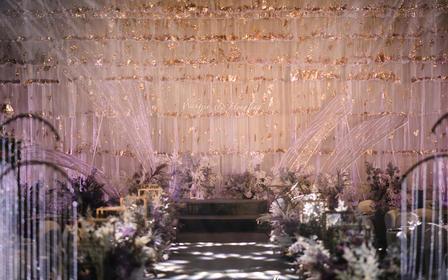 【译心婚礼】 时尚大气温柔创意手工婚礼