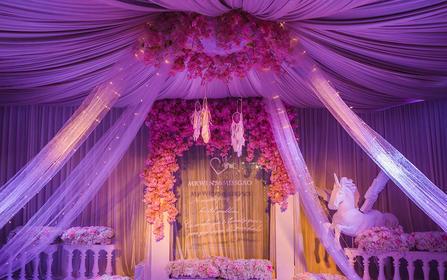 「轻奢主义」温馨大气婚礼 甜美公主风