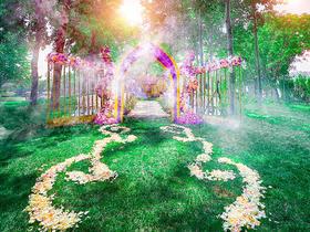 【清新户外婚礼】灵感伊甸园