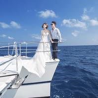 青岛乔伊 总监拍摄 游艇出海马场水下任性豪拍