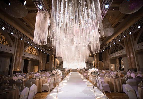【丘比特婚礼企划】香槟色奢华婚礼