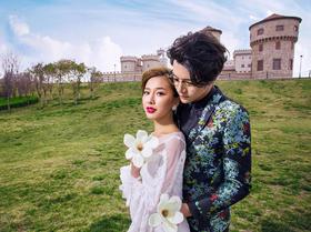 缪斯影像--郑州唯美城堡婚纱照