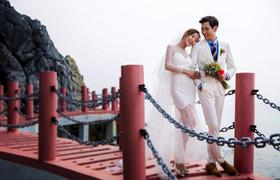 巴黎有约婚纱摄影【海上栈桥】
