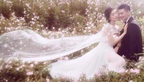 芭莎新娘优惠套系好评如潮经典婚纱照