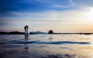 梦之蓝水下婚纱摄影