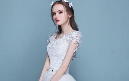 ℳ 艺术系列 皎洁 件婚纱+2件礼服