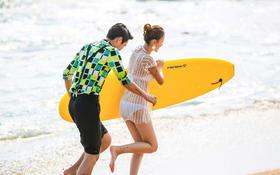 三亚蜜月旅拍【遇见最美的海】维蜜海景婚纱照