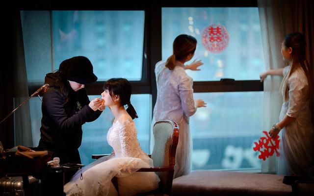 花儿映画婚礼案例17.12.31世纪银鑫大酒店