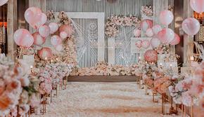 梵佐恩·小成本粉色主题婚礼·《甜甜的爱》