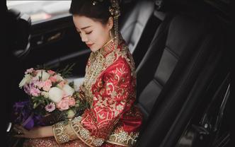 女皇婚礼一条龙套餐: 化妝+摄影+摄像(总监级)