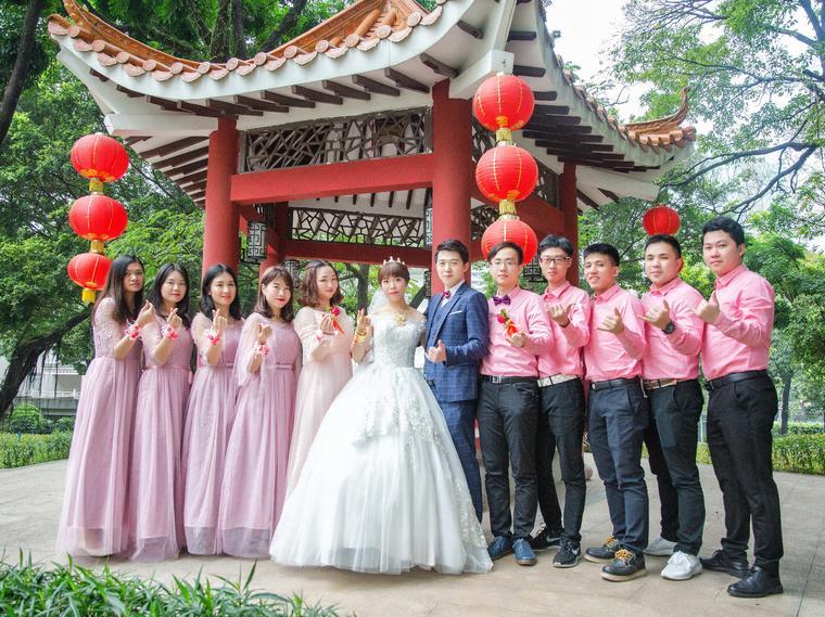 YYG「首席摄影」单机位婚礼拍照