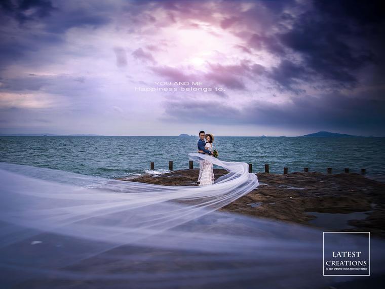 COMIU 宁波海景旅拍婚纱照