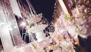 【鹿小姐婚礼中心】|  粉色秘密庄园清新少女婚礼