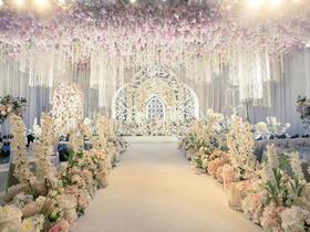 欧式婚礼布置——MJ婚舍  香槟白 公主系列