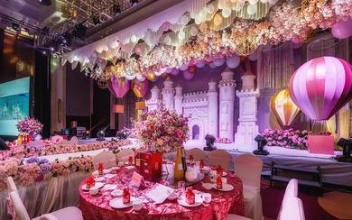 【摩卡婚礼】嫩粉色少女心爆棚的告白气球主题婚礼