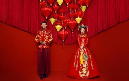 中式主题婚纱拍摄/名族特色婚纱拍摄