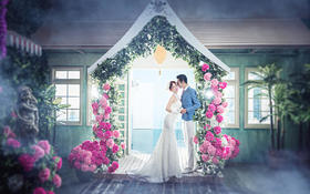 蔚蓝海岸花房系列  爱情蔓延的花语