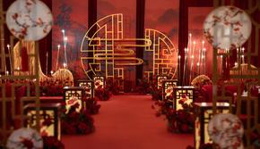 【一价全有】新中式简约红色喜庆含四大