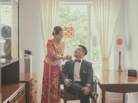 高端总监级三机位婚礼摄影 送拍孕照2年有效