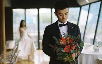 木木摄影 胶片单机位婚礼拍摄 底片全部精修